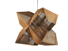 Lamp Angles by aLEX. Lasercut MDF