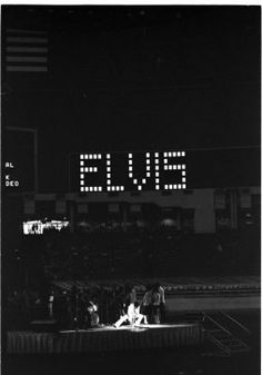 When Elvis Presley came to Houston - Elvis performs at the 1970 Houston Livestock Show and Rodeo in the Astrodome. He made six appearances over three days at the Houston rodeo. His Saturday evening performance broke all rodeo attendance records with a crowd of 43,614.