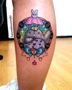 Totoro de mi hojita de diseños para Bertis! Lo amooo es tan feliz! Hahaha soy…