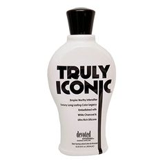 Truly Iconic Intensifier Tanning Lotion By Devoted Creations 1225 oz >>> Click image for more details. (This is an affiliate link) Best Tanning Lotion, Tanning Bed, Body Souffle, Fake Tan, Skin Care Treatments, Vodka Bottle, Tattoos, Beauty, Top