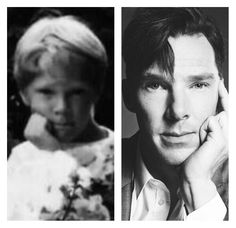Young Benedict and adult Benedict.