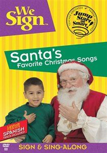 "We Sign Santa""s Favorite Christmas Songs. We Sign Santa""s Favorite Christmas Songs provides children and adults with a wonderful way to experience classic and new Christmas Songs.. Price: $12.12"