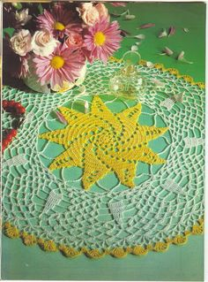 World crochet: Napkin 137