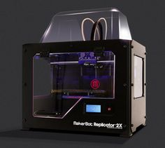 Our Awesome #makerbot Printer - TWO COLOR DESIGNS COMING SOON!
