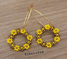 Seed Bead Earrings, Beaded Earrings, Beaded Jewelry, Handmade Jewelry, Seed Bead Patterns, Beaded Bracelet Patterns, Beading Patterns, Seed Bead Projects, Bead Weaving