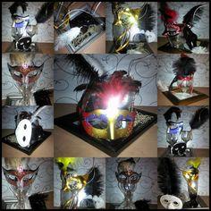 Masquerade Table Centerpieces