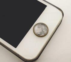 1PC Retro Glass Epoxy Transparent Times Gems by StudioHappyFish, $2.99