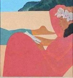 PEGGE HOPPER ~Matted HAWAII Art ~ Ready-to-Frame Print