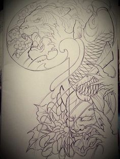 tattoo japan dragon - Поиск в Google