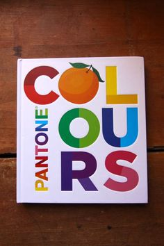 pantone colours book for kids
