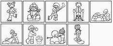 "Ideenreise: Minibilder ""Winter Activities"""