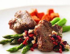 Gordon Ramsay's Peppered Lamb Steaks