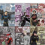 Artist's interpretation of character progression post The Dark Knight Rises