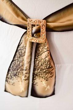 rustic-mason-jac-tie-back-2 Chair Ties, Tie Backs, Floral Tie, Wedding Favors, Rustic, Unique, Accessories, Wedding Keepsakes, Country Primitive