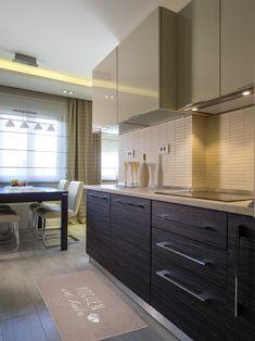GIFTCOMPANY | Küchenmatten Kitchen Island, Kitchen Cabinets, Küchen Design, Kitchen Ideas, Home Decor, Old Kitchen, Narrow Rooms, Ikea Kitchen, Little Kitchen