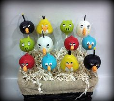 Angry Birds!!  How cute!