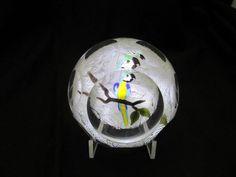 Beautiful Hand Made John Deacons Macaw Parrot Studio Art Glass Paperweight | Pottery & Glass, Glass, Art Glass | eBay!