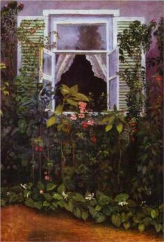 Window - Victor Borisov-Musatov - 1886