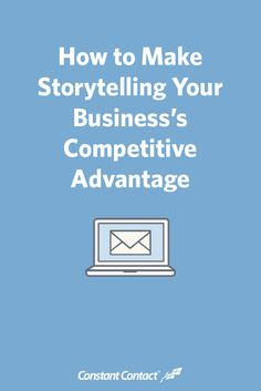 Stories are the seeds of connection. They have staying power — think back to all the stories you can still remember from your early childhood.  And they're more important than ever as a way to stand out from your competition.  Here are a few things storytelling can do for your business.