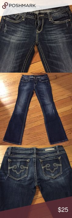 EXPRESS Rock jeans Express jeans in amazing condition! Express Jeans