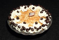 Coffee Toffee Crunch a Bunch Pie won Best of Sho in the Professional Division of the 2012 National Pie Championships, part of the Great American Pie Festival.