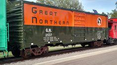 Great Northern Railroad, Boxcar, Bridges, Trains, Restoration, Cars, Usa, Photos, Blue Prints