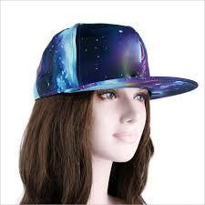3b7582335 New Fashion Baseball Cap Galaxy Space Pattern Print Snapback Unisex Hip Hop  Peak Cap Hats Black black Online Shopping