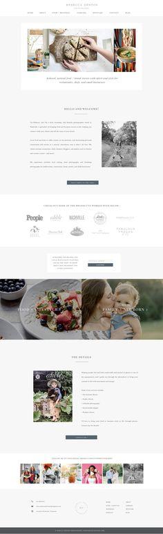 Food and lifestyle photography website. Design by Rachael Earl Design. Photography Website, Lifestyle Photography, Star Wars Poster, Creative Business, Logo Design, Branding, Food, Brand Management, Essen