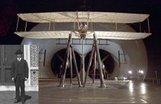 December 17, 2013 marks the 110th anniversary of the world's first powered flight by the Wright Brothers in Kill Devil Hills, N.C.  The Wright Experience tested a reproduction of the successful Wright Flyer in NASA Langley's historic Full Scale Tunnel in 2003.