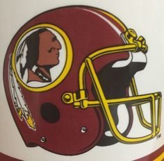Washington Redskins Stein Mug Vintage Licensed Russ 16 Oz Helmet Football Coffee