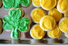 RECIPE: Sugar Cookies ... make shamrocks + gold coins