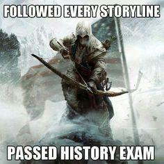 Passed history exam