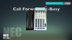 How To Use Call Forwarding On The NEC DTP 16D-1 Phone