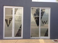 We have an identity! Signage up at our new office.what do you think? Outdoor Living Areas, Living Spaces, Victoria Australia, Cheap Web Hosting, Energy Efficiency, Custom Homes, Sunlight, Signage, Architecture Design