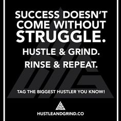 The struggle is real but thankfully so is the hustle!