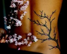 Cherry Blossom tattoo by shadowangel