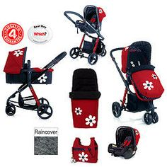 Cosatto Giggle 3 in 1 Special Edition Deluxe Trave