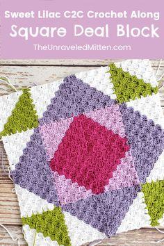 Scrap Crochet, Crochet Quilt Pattern, Crochet Square Blanket, Crochet Blocks, Granny Square Crochet Pattern, Crochet Bebe, Crochet Squares, Crochet Motif, Crochet Crafts