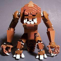 moodSWIM MOC : Rancor Lego Bots, Lego 4, Lego Minecraft, Lego Star Wars, Pokemon Lego, Lego Village, Lego Pictures, Lego Worlds, Cool Lego Creations