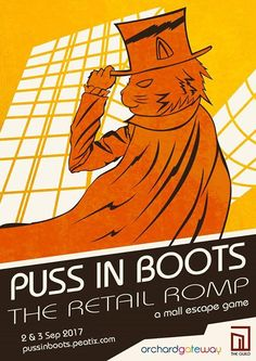 Neo Tokyo Project's Puss In Boots: The Retail Romp is a mall escape game taking place at orchardgateway this weekend, and very limited slots are still available for tomorrow's afternoon sessions.  If you're up for an urban adventure, grab your tickets now at http://pussinboots.peatix.com! #fashion #style #stylish #love #me #cute #photooftheday #nails #hair #beauty #beautiful #design #model #dress #shoes #heels #styles #outfit #purse #jewelry #shopping #glam #cheerfriends #bestfriends #cheer…