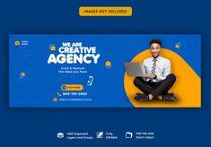 Creative Facebook Cover, Facebook Cover Design, Facebook Cover Template, Fb Banner, Facebook Banner, Social Media Banner, Social Media Design, Facebook Poster, Facebook Quotes