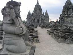Templos de Prambanan, en Java