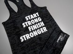 Womens Workout Tank Top. Motivational Tank by StrongGirlClothing, $21.99
