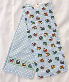 Check out this item in my Etsy shop https://www.etsy.com/listing/242041413/baby-burp-cloths-set-of-two-triple-layer