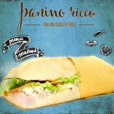 Con un basso contenuto di grassi, il 17% di proteine e ricca di #omega3; questa è la bianchissima e saporita carne dello storione bianco, pregiata, gustosa e sana!    Da #PaninoRicco puoi gustarla affumicata con lattuga, pomodoro, burro al caviale e un filo d'olio extra vergine d'oliva.   #ItalianQualityFood #EatItalian #SeaFood #PaninidiPesce #PaniniSpeciali #PaniniRoma