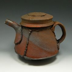 Anthony Pearson, reduction cooled teapot.