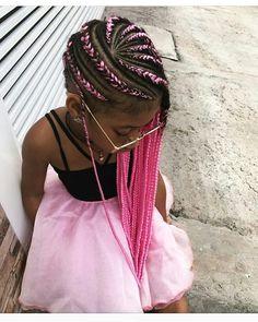 Pin on Kid braid styles Pin on Kid braid styles Lil Girl Hairstyles Braids, Black Kids Hairstyles, Cute Little Girl Hairstyles, Braided Hairstyles For Black Women, Black Girl Braids, Braids For Black Hair, Kid Braid Styles, Hair Styles, Black Little Girls