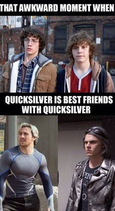 So Quicksilver Befriended Himself One Time