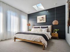 Home Decor Bedroom, Modern Bedroom, Master Bedroom, Diy Blinds, Bedroom Styles, Beautiful Bedrooms, Ikea, New Homes, House Design