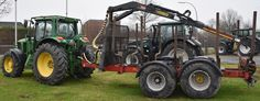 Forsttechnik John Deere 6920 Rückewagen Eifo RW 14 TP mit Eifo Kran